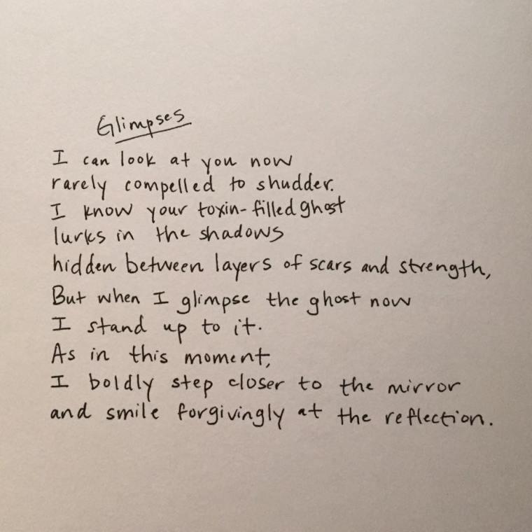 Glimpses Poem