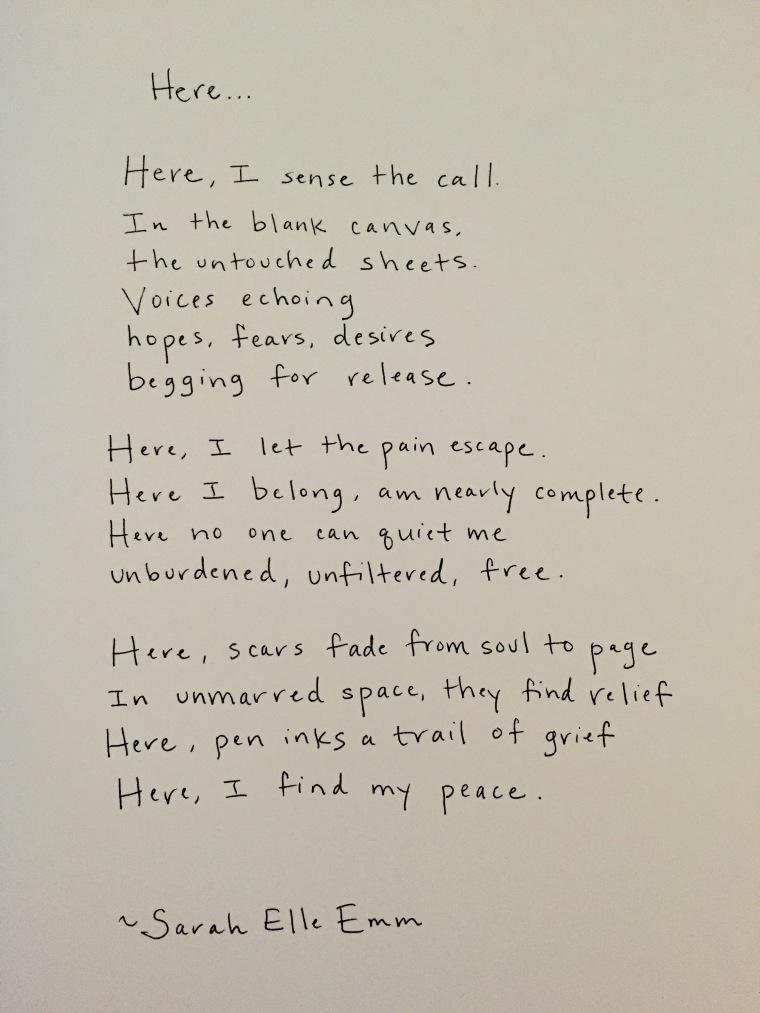 """poem, """"Here"""""""