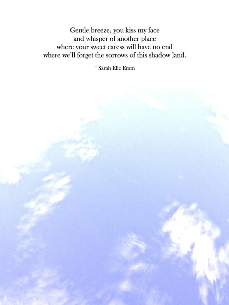 poem Gentle breeze copy